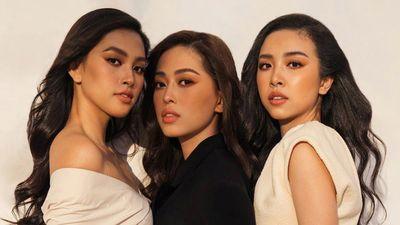 Top 3 Hoa hậu Việt Nam 2018 thân thiết trong hậu trường chụp ảnh