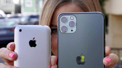 iPhone 11 Pro đọ camera với iPhone 2G