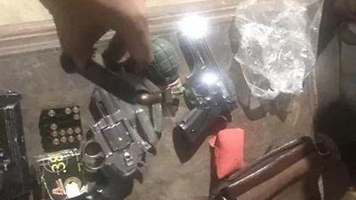 Trùm ma túy giấu súng, lựu đạn trong khách sạn