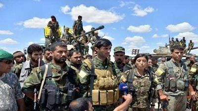 Các tay súng người Kurd gấp rút huấn luyện để gia nhập SDF
