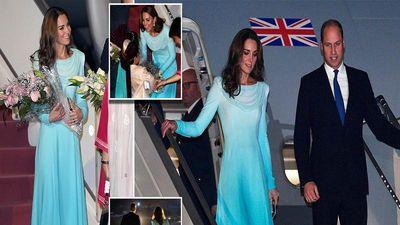 Vẻ đẹp rạng rỡ của Công nương Kate Middleton khi thăm Pakistan