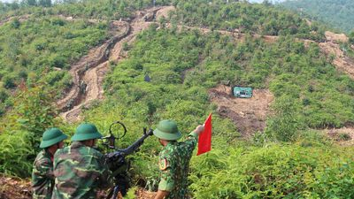 Cận cảnh cuộc diễn tập khu vực phòng thủ mang mật danh PT-19 ở Phú Thọ