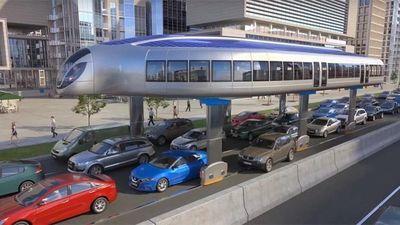 Siêu xe của tương lai giúp giải quyết tắc đường