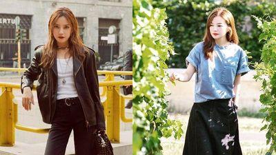 Triệu Vy có gu thời trang hack tuổi, trẻ trung như nữ sinh trung học
