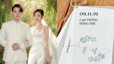 Đông Nhi - Ông Cao Thắng chơi lớn bao khách mời dự cưới từ A-Z