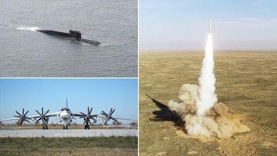 Nga tung loạt bằng chứng khẳng định sức mạnh 'khủng' của bộ ba hạt nhân