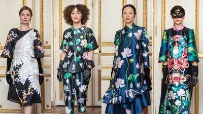 Bộ sưu tập trở về từ Paris lên sàn diễn thời trang Việt Nam Thu Đông