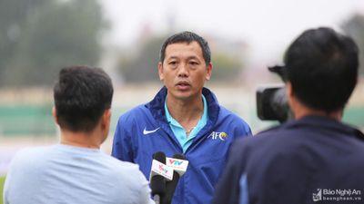 HLV Nguyễn Đức Thắng bỏ ngỏ khả năng tiếp tục dẫn dắt SLNA