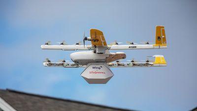 Alphabet bắt đầu giao hàng bằng máy bay không người lái tại Mỹ