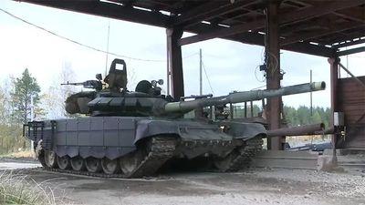 Quy trình thử xe tăng T-72B3 sau nâng cấp
