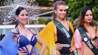 Hoàng Hạnh đạt giải vàng đầu tiên ở Hoa hậu Trái Đất