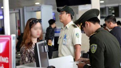 Tăng cường kiểm tra, các trường hợp có dấu hiệu sử dụng giấy tờ giả đi máy bay