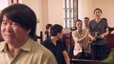 'Sinh tử' tập 8, Phiên tòa náo loạn vì vợ Tỵ hét lên là bị lừa, nhắn chồng không nhận tội