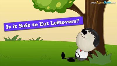 Bảo quản thức ăn thừa đúng cách