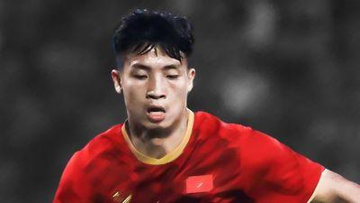 Bùi Tiến Dũng di chuyển khiến cầu thủ UAE mắc bẫy