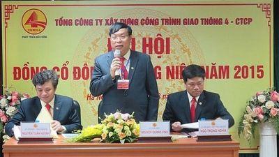 Phó TGĐ Cienco 4 Nguyễn Quang Vinh sai phạm gì để bị kỷ luật?