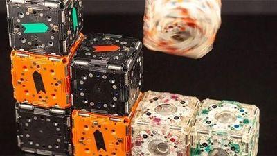 Robot có khẳ năng lắp ghép như phim viễn tưởng