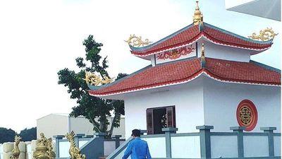 Cty Frit Phú Sơn tự ý xây dựng miếu thờ trái phép ở Huế: Xử lý thế nào?
