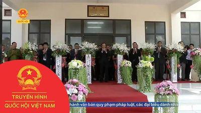 BIDV BÀN GIAO TRƯỜNG PTTH DAKCHEUNG CHO TỈNH SEKONG