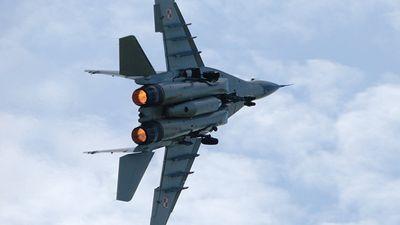 Đang huấn luyện, máy bay quân sự Ấn Độ bốc cháy