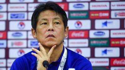 HLV Nishino: 'Tôi chịu áp lực lớn khi gặp tuyển Việt Nam'