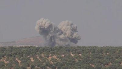 Syria: Cận cảnh các vụ không kích ở tỉnh Idlib