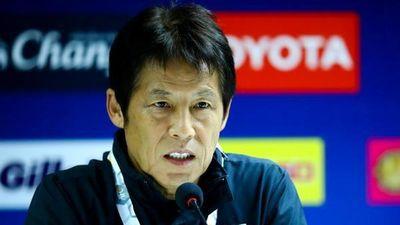 HLV Nishino chia sẻ với báo giới sau trận gặp Việt Nam