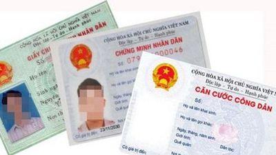 Thẻ Căn cước công dân sẽ thay thế những loại giấy tờ tùy thân nào?