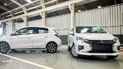 Cận cảnh xe giá rẻ Mitsubishi Mirage và Attrage 2020 mới