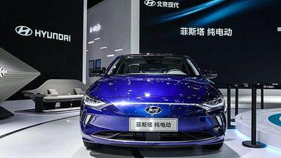 Xe điện Hyundai Lafesta chạy 460km/lần xạc ra mắt tại Trung Quốc