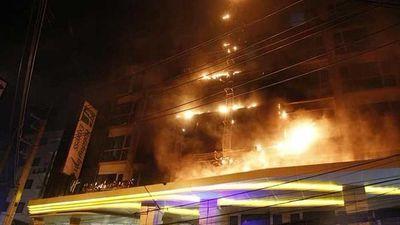 Cháy khách sạn ở Thái Lan, hàng trăm người phải sơ tán
