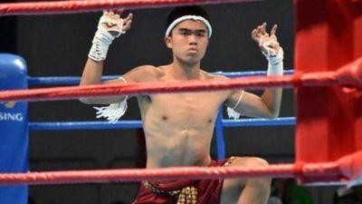 Sao trẻ bóng đá Indonesia giành HCĐ Muay Thái tại SEA Games 30