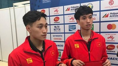 Cặp đôi bóng bàn Việt Nam chấm dứt sự thống trị của Singapore