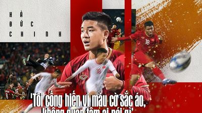Hà Đức Chinh - Chàng trai dân tộc Mường đi qua giông tố, đưa U22 Việt Nam vào chung kết SEA Games