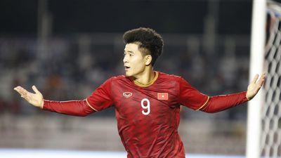Đức Chinh dứt điểm tinh tế, U22 Việt Nam dẫn trước U22 Campuchia 2-0