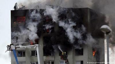 Nổ khí gas tại chung cư cao tầng ở Slovakia, 5 người chết