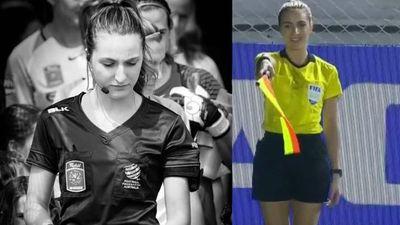 Joanna Charaktis - nữ trọng tài biên tước bàn thắng của Thái Lan: Đã xinh còn tinh mắt