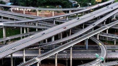 Những con đường như mê cung ở Trùng Khánh, Trung Quốc