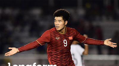 Cách Đức Chinh ghi bàn ở SEA Games 30