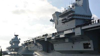 Anh nhập biên tàu sân bay thứ hai, sức mạnh hải quân bỗng 'nhảy vọt'