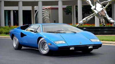 Lamborghini Countach Periscopica gương chiếu hậu 'kính tiềm vọng'