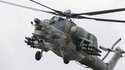 'Thợ săn' Mi-28 Nga rơi khi tập bay đêm, cả hai phi công thiệt mạng
