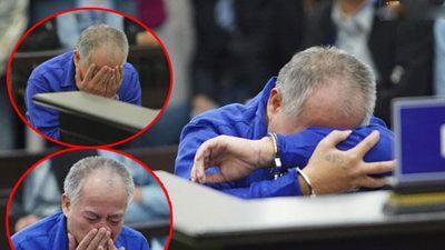 Kẻ vác dao truy sát cả gia đình em trai tóc bạc trắng, ôm mặt khóc nức nở tại tòa
