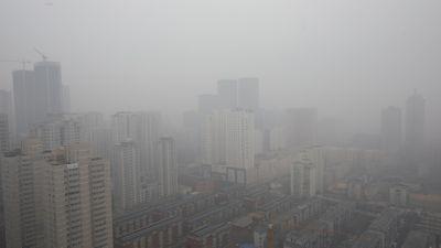 Trung Quốc tiếp tục báo động về tình trạng sương mù dày đặc