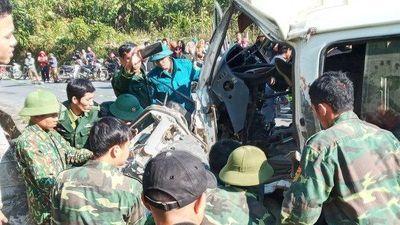 Thêm một nạn nhân tử vong trong vụ xe chở cán bộ trung tâm dạy nghề đâm vách núi