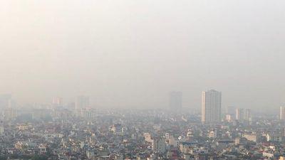 Chất lượng không khí Hà Nội lọt top ô nhiễm thế giới