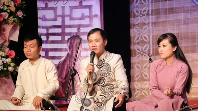 Nhạc sĩ Nguyễn Quang Long đưa bài xẩm của Thu Phương vào CD đầu tay