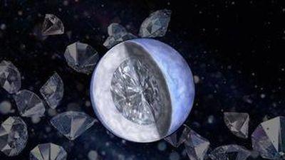 Hành tinh to gấp 2 lần Trái Đất với bề mặt kim cương