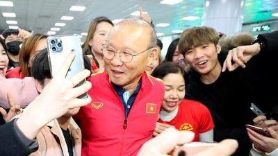 HLV Park được người hâm mộ chào đón nồng nhiệt tại Hàn Quốc