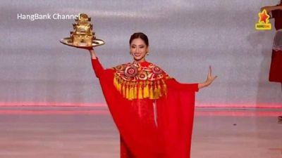 Tự tin múa mâm vàng, Lương Thùy Linh lọt top 12 Miss World 2019